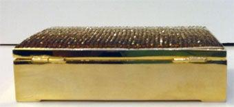 Judith Leiber Gradient Rhinestone Clutch/Handbag, Circa 1990's 7