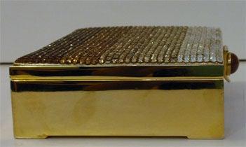 Judith Leiber Gradient Rhinestone Clutch/Handbag, Circa 1990's 6
