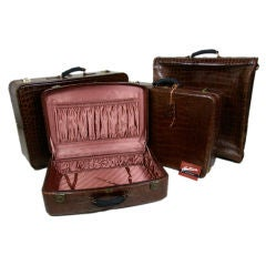 Hartmann Alligator 4-Piece Luggage Set