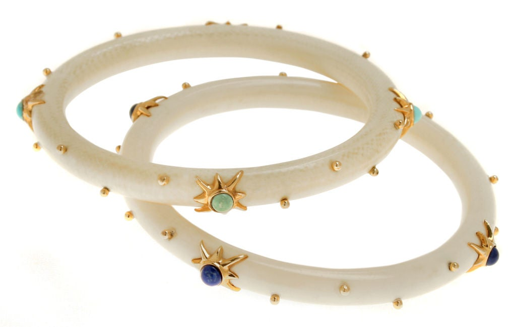 folkcraft bracklet mountain ivory bangles