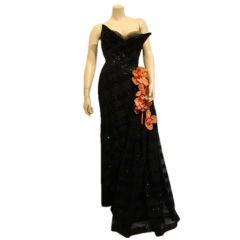 1950s Fe Zandi Couture Gown