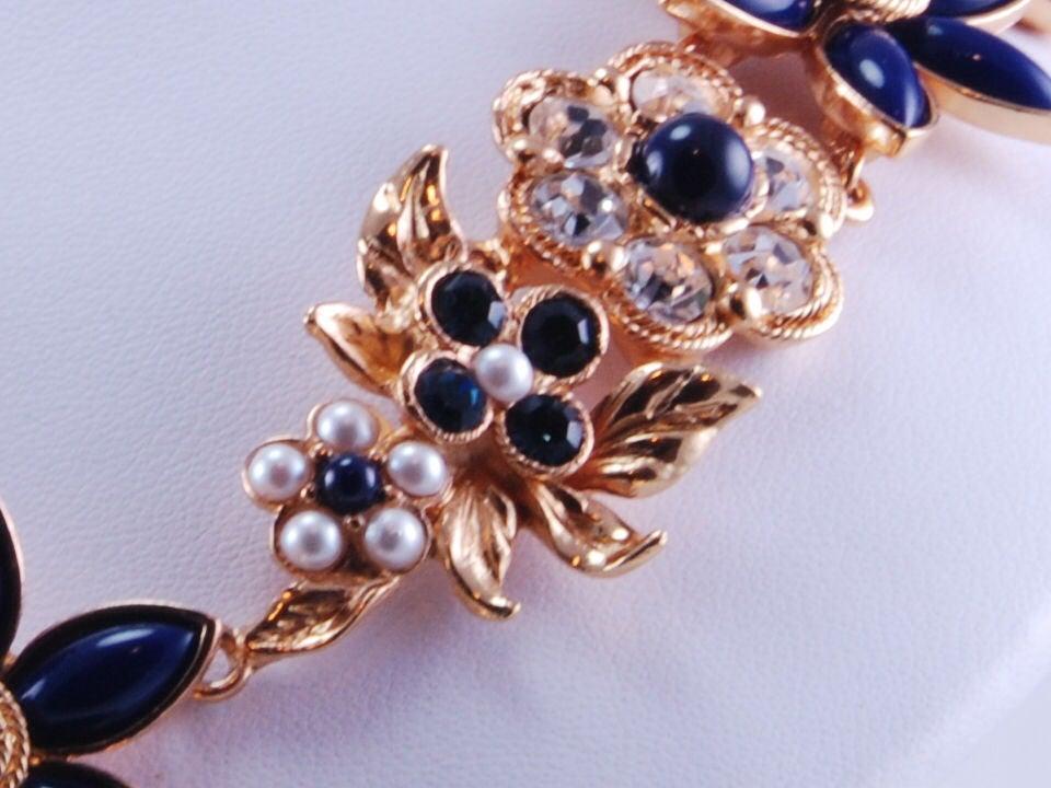 Christian Lacroix Rhinestone Necklace & Bracelet image 8