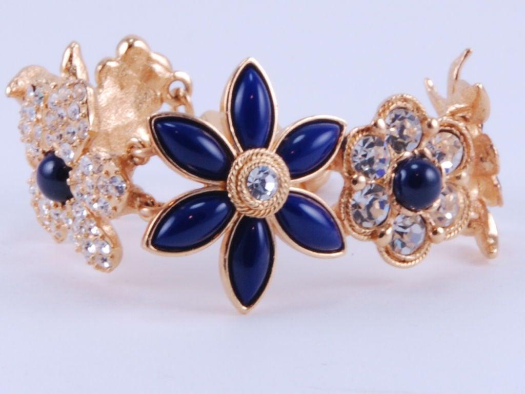 Christian Lacroix Rhinestone Necklace & Bracelet image 5