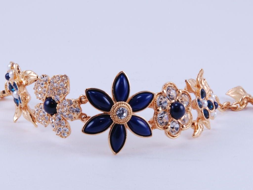 Christian Lacroix Rhinestone Necklace & Bracelet image 6