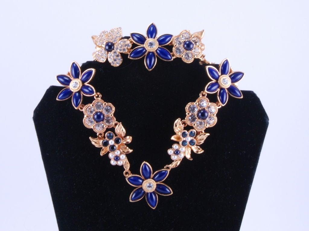 Christian Lacroix Rhinestone Necklace & Bracelet image 2