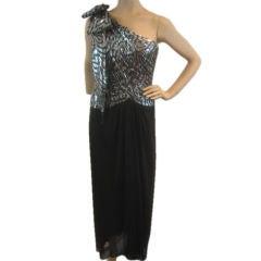 Estevez Fabulous Vintage One-Shoulder Dress Sz 6