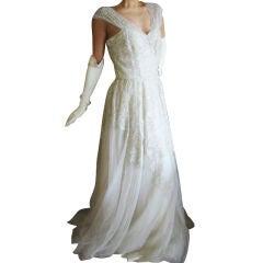 Balmain Haute Couture Wedding Gown