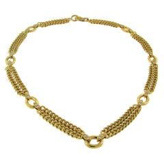 Van Cleef & Arpels Diamond & 18k Yellow Gold Necklace