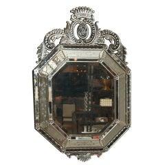 Octagon Venetian Cushion Mirror