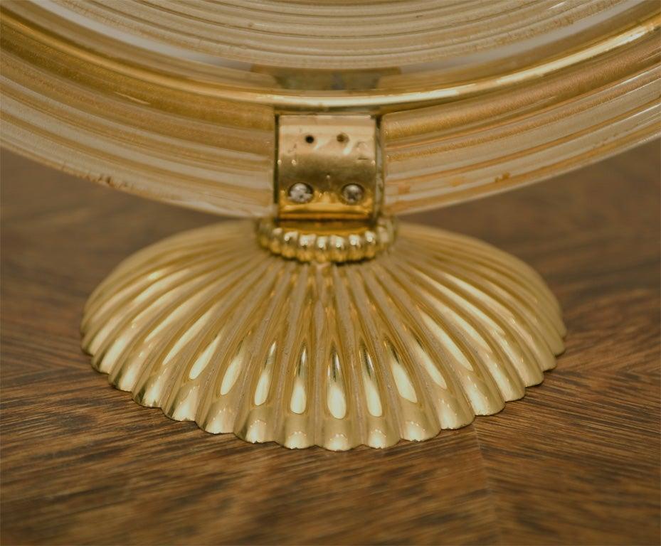 Elegant Table Mirror Design Attributed To Gio Ponti At