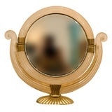 Elegant table mirror, design attributed to Gio Ponti