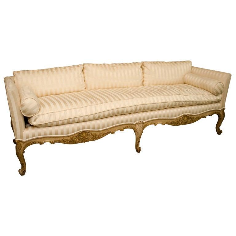 Maison Jansen Three Seat Sofa At 1stdibs