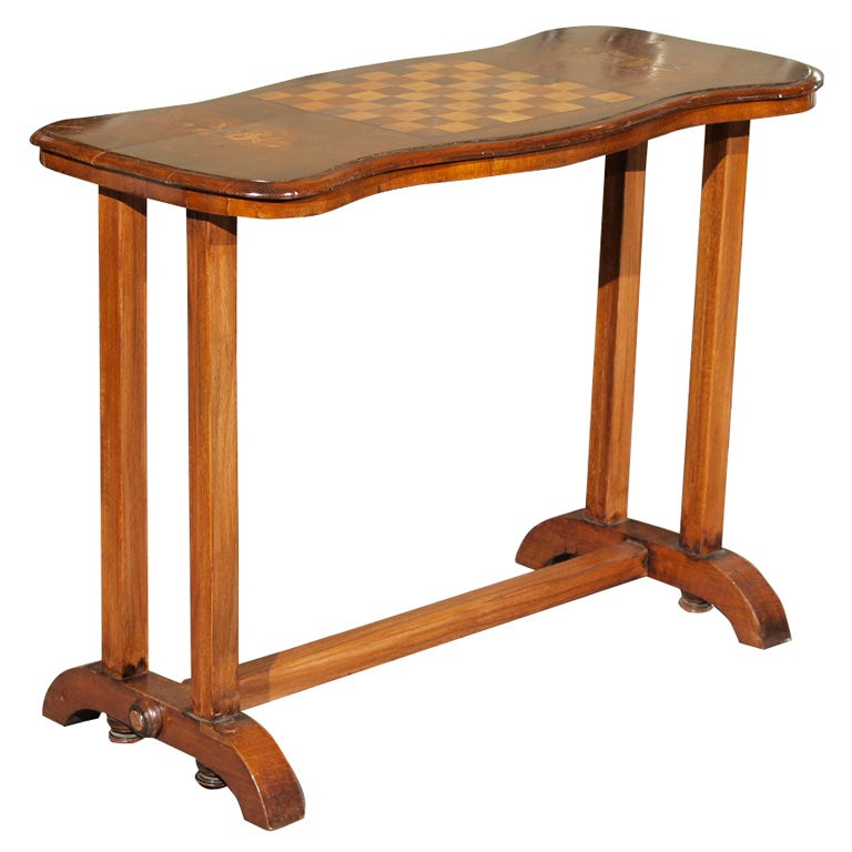 Antique English walnut chess table at 1stdibs : xP7297553 from www.1stdibs.com size 768 x 768 jpeg 55kB