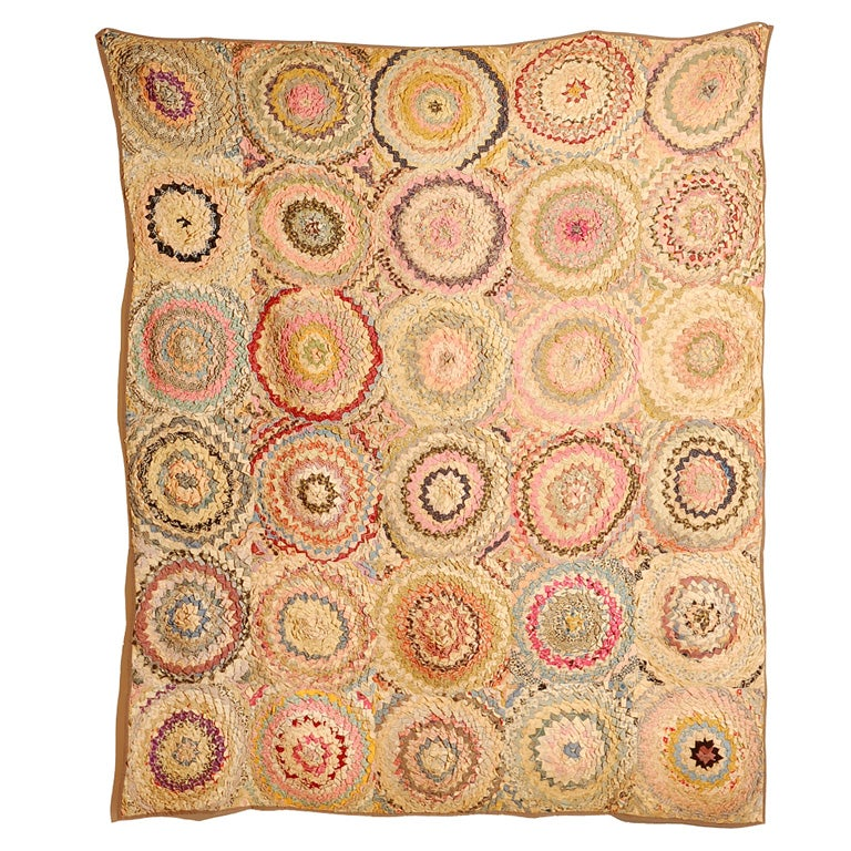 African American Pine Burr Quilt For Sale