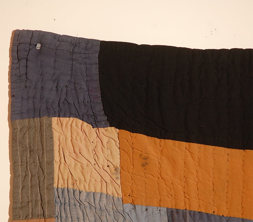 African American Abstract Quilt, Attributed to Gees Bend, AL 5