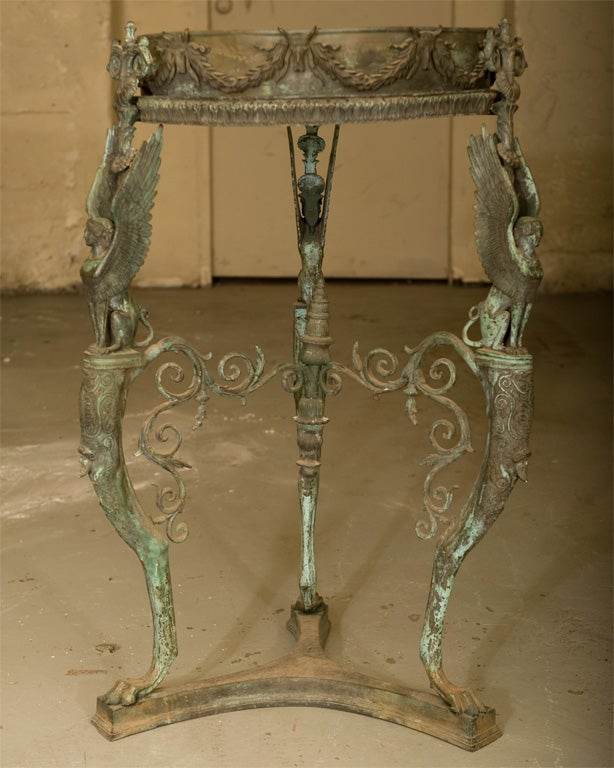 Early 19th Century Grand Tour Brazier Stand At 1stdibs