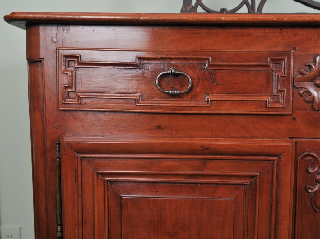 Oak 18th Century French Transitional Four-Door Enfilade For Sale