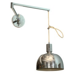 Adjustable Wall Sconce by Franco Albini & Franca Helg for Sirrah