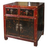 Pair of Chinese 19th century Bedside cabinets side tables