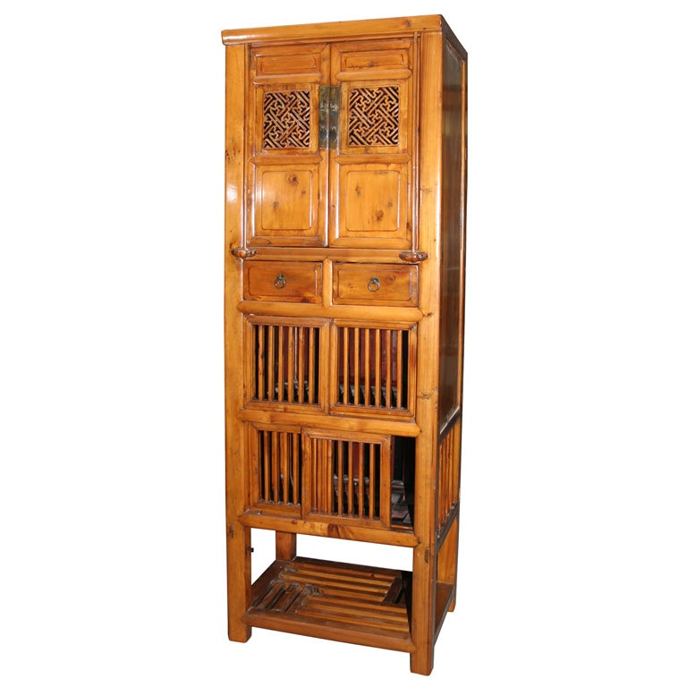 Chinese 19th century country kitchen cabinet at 1stdibs for 19th century kitchen cabinets