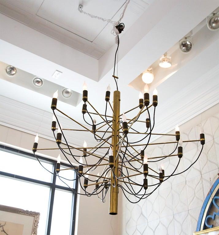 Gino sarfatti chandelier at 1stdibs for Gino sarfatti flos