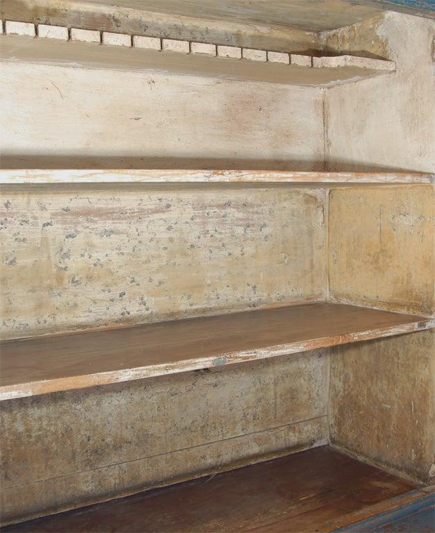 19th C. Swedish Gustavian cupboard For Sale 1
