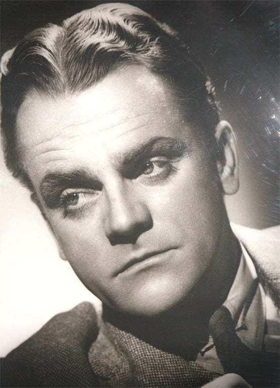 Glass George Hurrell Photographs of James Cagney and John Barrymore For Sale