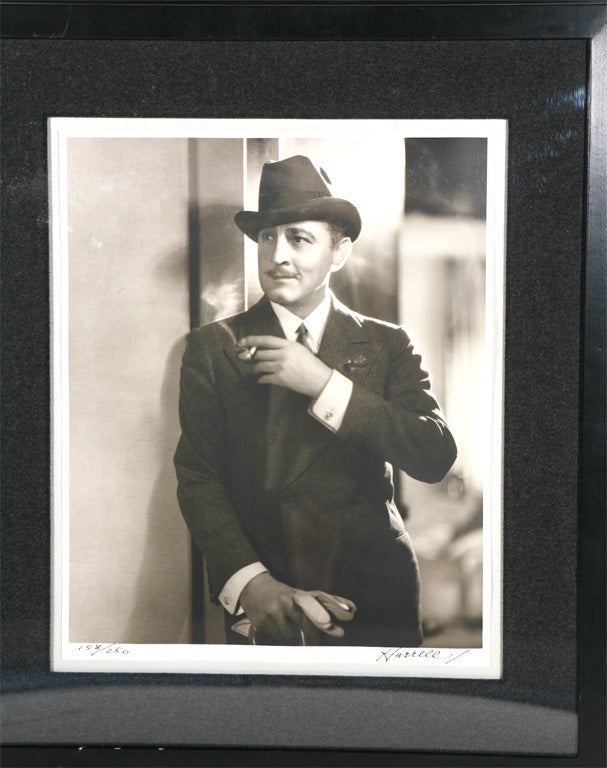 George Hurrell Photographs of James Cagney and John Barrymore For Sale 1