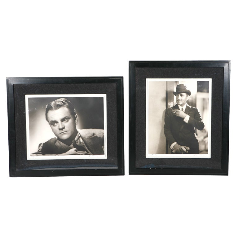 George Hurrell Photographs of James Cagney and John Barrymore
