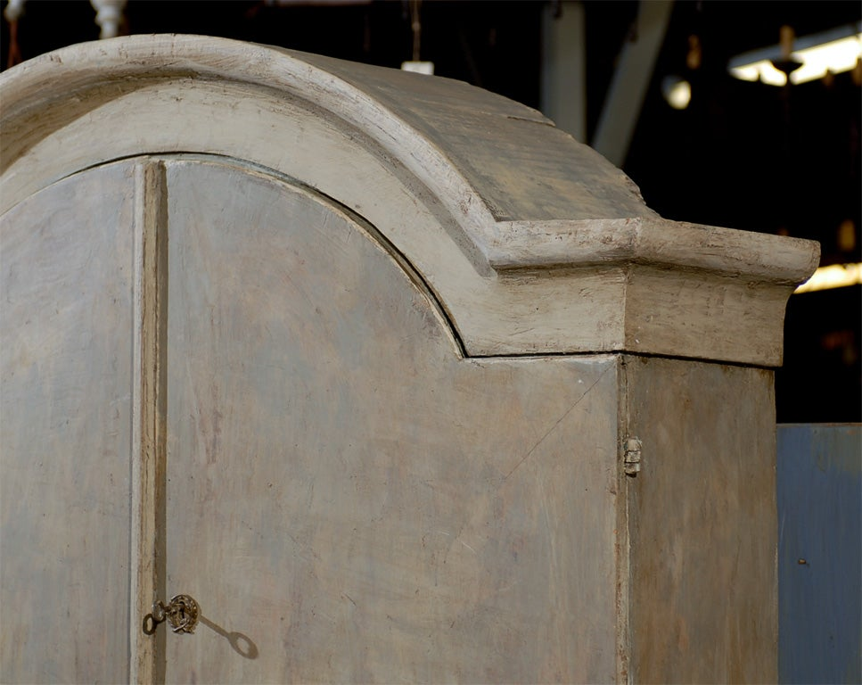 Late 18th Century-Early 19th Century Rococo Style Slant Front Swedish Secretary In Good Condition For Sale In Atlanta, GA