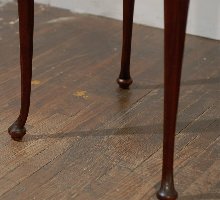 Wood Italian Side Tables, Pair For Sale