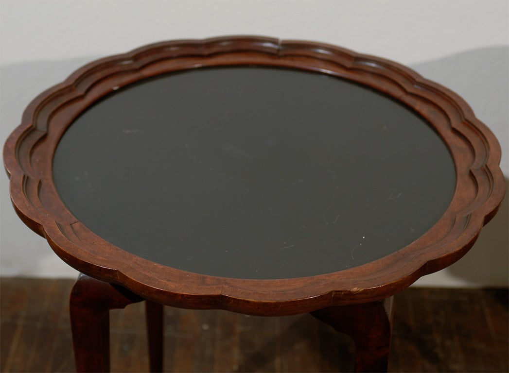 Italian Side Tables, Pair For Sale 1