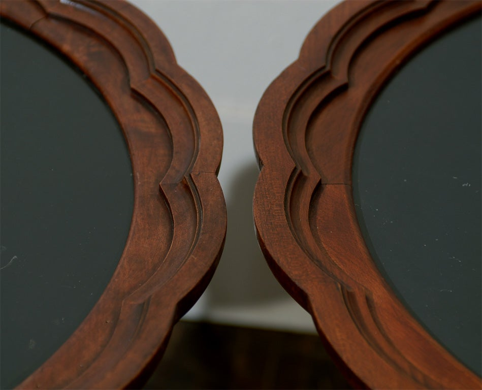 Italian Side Tables, Pair For Sale 3