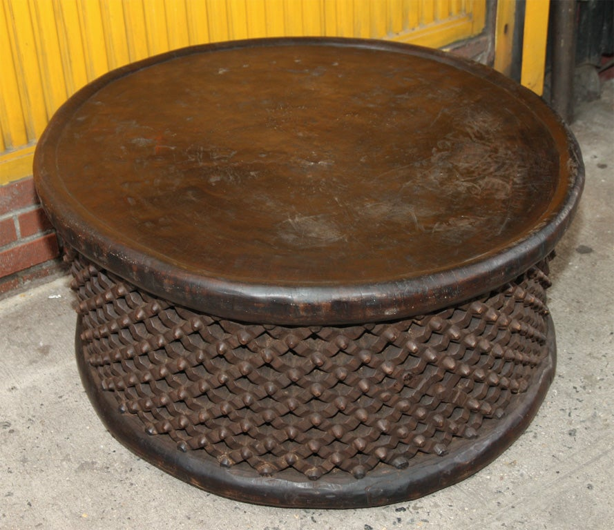 Coffee table home collections furniture tables bedford coffee table - Hand Carved Cameroon Table At 1stdibs