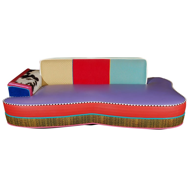 Los Angeles Furniture Designers designer furniture los angeles fanciful vintage mid century modrox com 25 A Memphis Inspired Sofa By Los Angeles Designer Harry Siegel 1