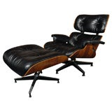 Rosewood Eames Chair And Ottoman