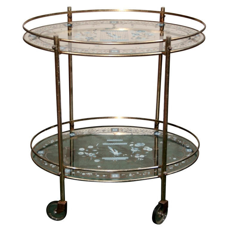 1950 S Bar Cart At 1stdibs