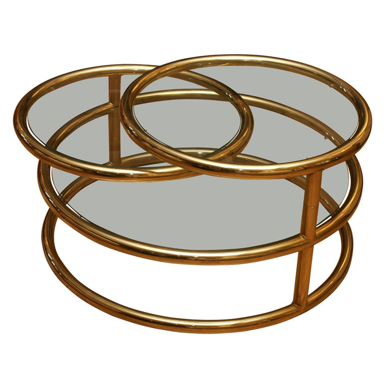 Https Www 1stdibs Com Furniture Tables Coffee Tables Cocktail Tables Rotating Circles Coffee Table Id F 333612