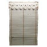 Painted Iron Shutter