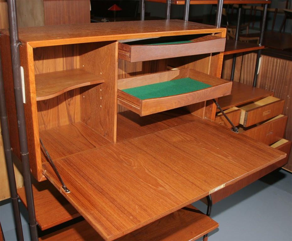 Teak Modular Shelving Units 6