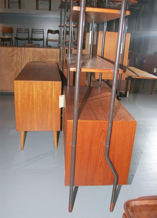 Teak Modular Shelving Units image 8