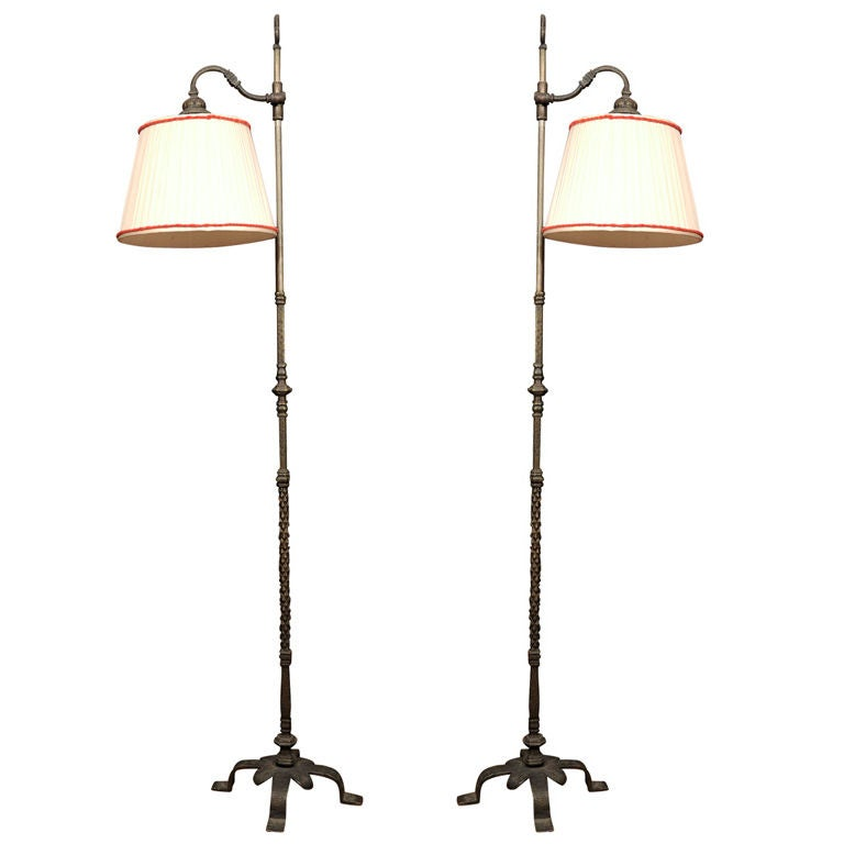 caldwell arts and crafts style lamps at 1stdibs. Black Bedroom Furniture Sets. Home Design Ideas