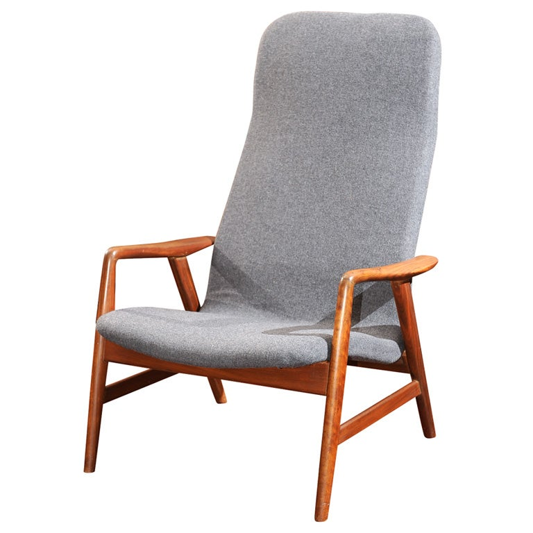 Danish modern armchair at 1stdibs for Modern armchair