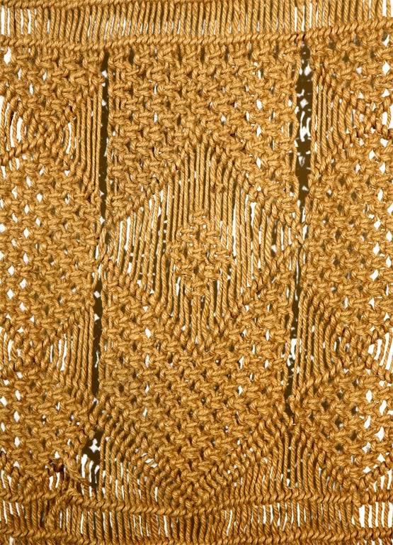 Macrame Wall Hanging on Driftwood image 5