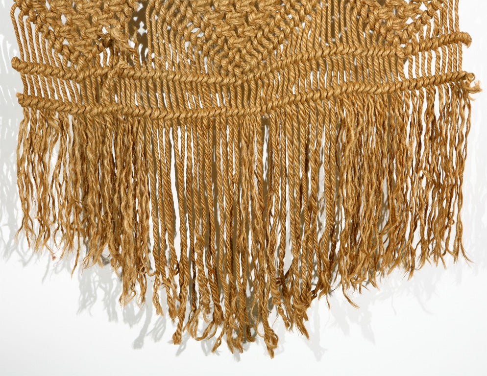 Macrame Wall Hanging on Driftwood image 7