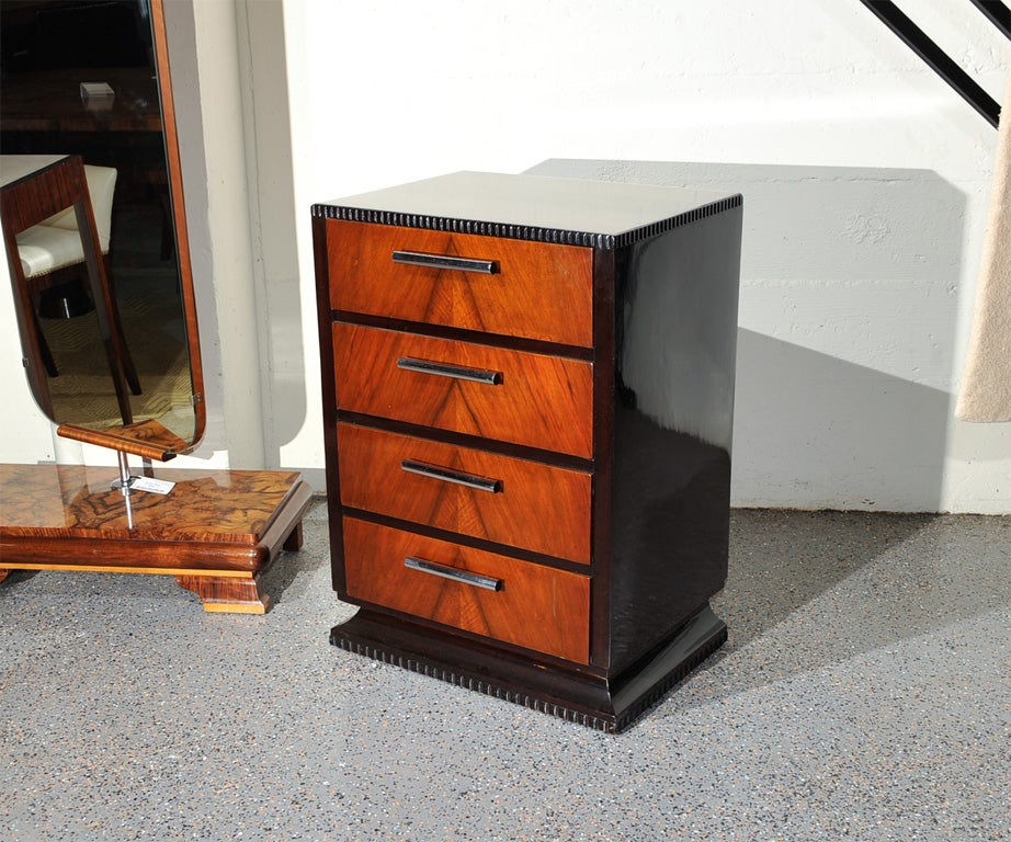 1930 S Modernist Art Deco Dresser Drawers At 1stdibs