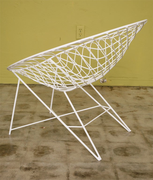 Mid-20th Century Fab 50s Wire  Lounge Chairs