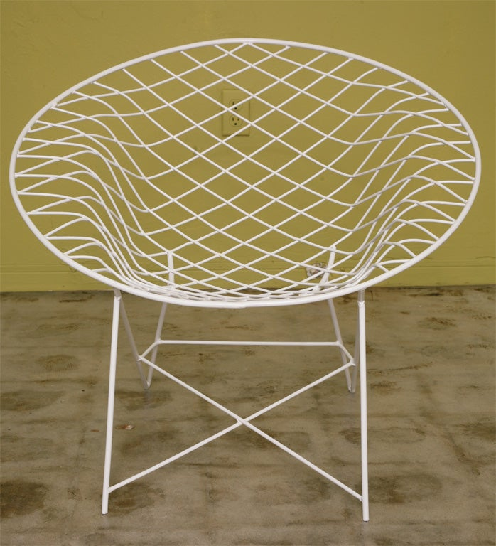 Fab 50s Wire  Lounge Chairs 1