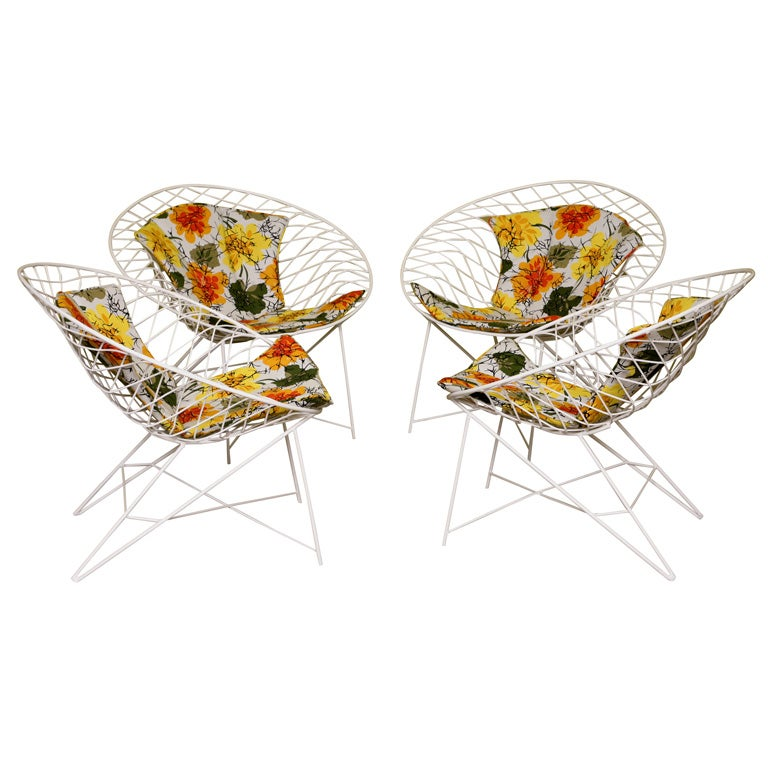 Fab 50s Wire  Lounge Chairs