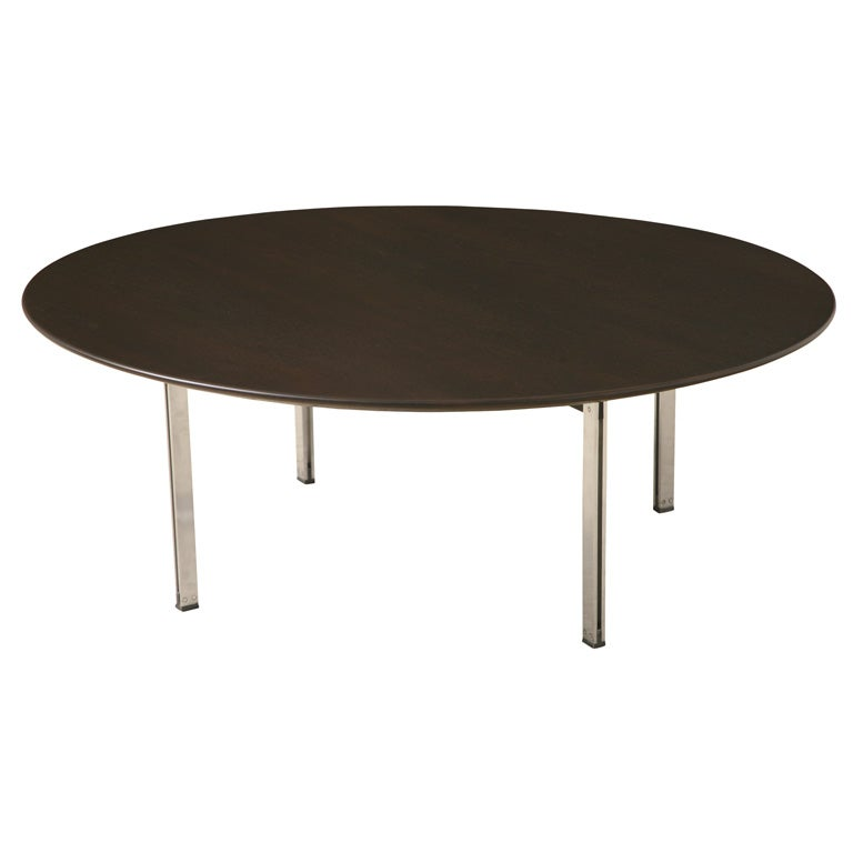 Florence Knoll Parallel Bar Coffee Table At 1stdibs